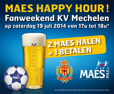 Haapy hour Maes Pils