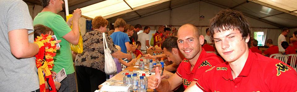 KV Mechelen fanweekend - handtekeningensessie