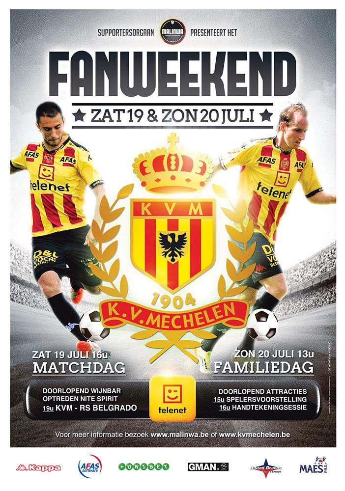Fanweekend KV Mechelen 2014