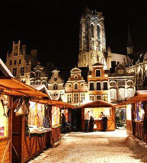 Malinwa op Mechelse kerstmarkt