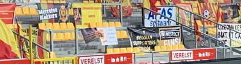 Ophalen supportersvlaggen